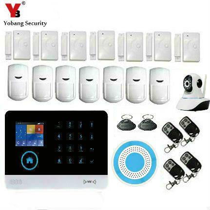 Wireless Gsm Wifi Home Alarm Security System Wireless Home Security Systems Home Security Alarm System Best Home Security System