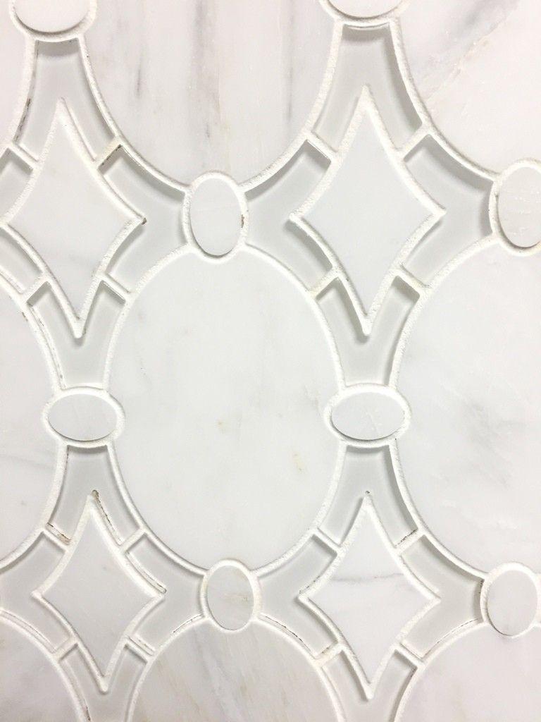 Antiquity Mosaics White Marble Tile Sheet