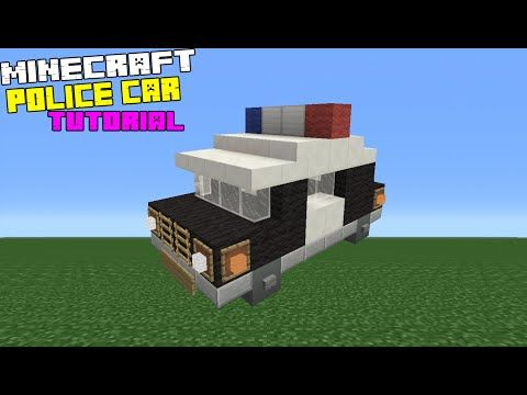 Minecraft Tutorial How To Make A Police Station InteriorExterior - Minecraft schone einfache hauser