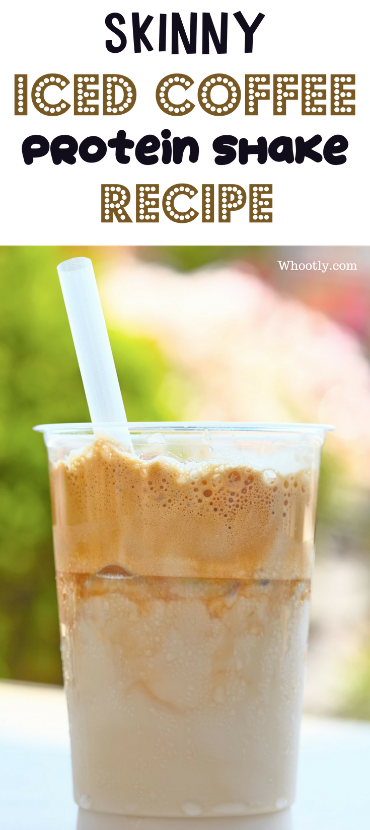 Iced Coffee Protein Shake Recipe A Low Calorie Low Carb High Protein And Filling Break Protein Shake Recipes Shake Recipes Iced Coffee Protein Shake Recipe