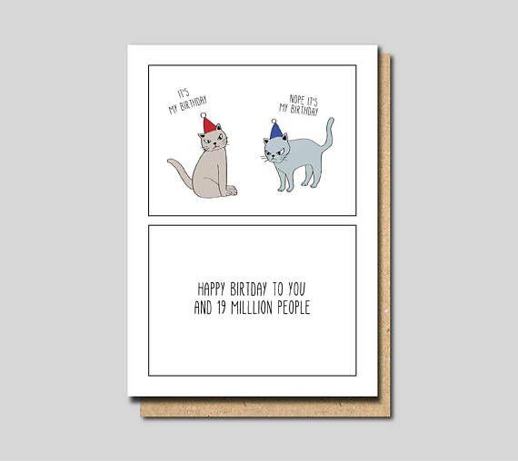 Birthday Card Friend Birthday Card For Her Birthday Card Funny