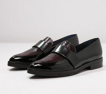 Humat Manchester Polbuty Damskie W Meskim Stylu Wsuwane Noir Fashyou Pl Masculine Style Style Shoes