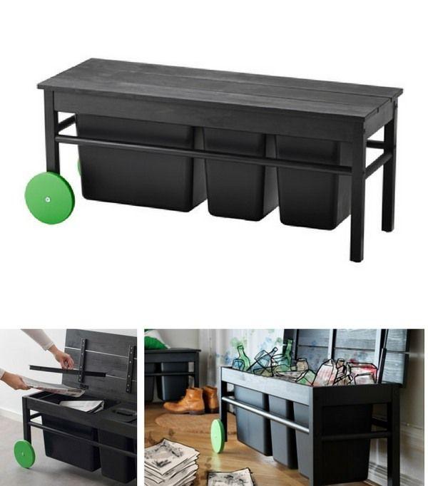 top 16 des meubles multifonctions gain de place pour toute la maison rangement organisation. Black Bedroom Furniture Sets. Home Design Ideas