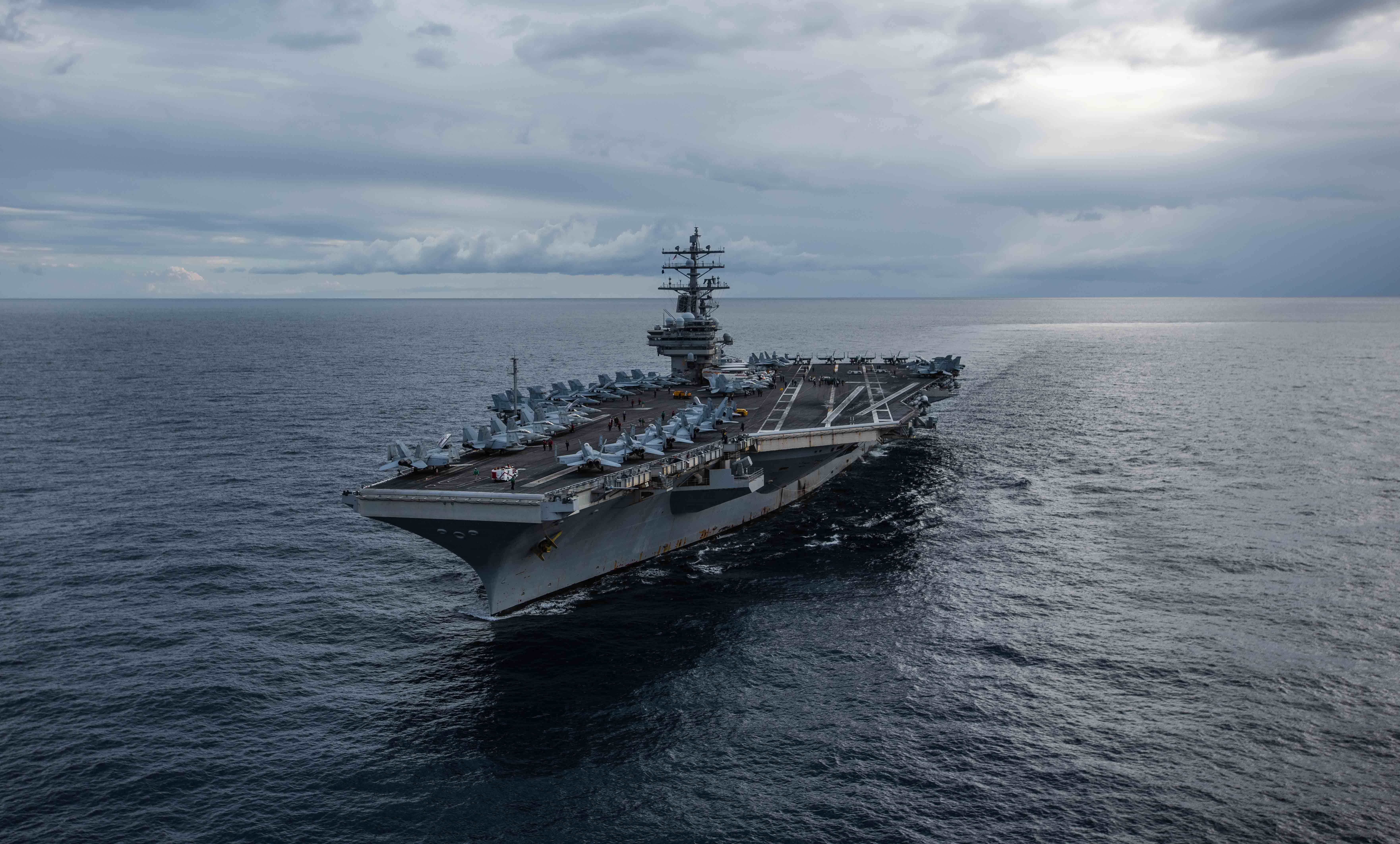 Uss Ronald Reagan Carrier Strike Group Departs For 2020 Deployment In 2020 Uss Ronald Reagan South China Sea Ronald Reagan