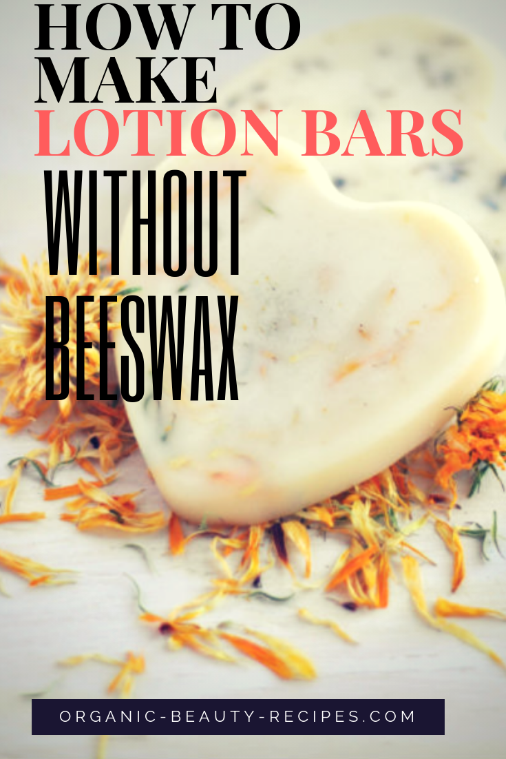 How To Make Lotion Bars Without Beeswax
