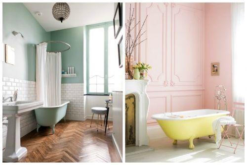 Peppy Pastel Bathroom Decor Ideas