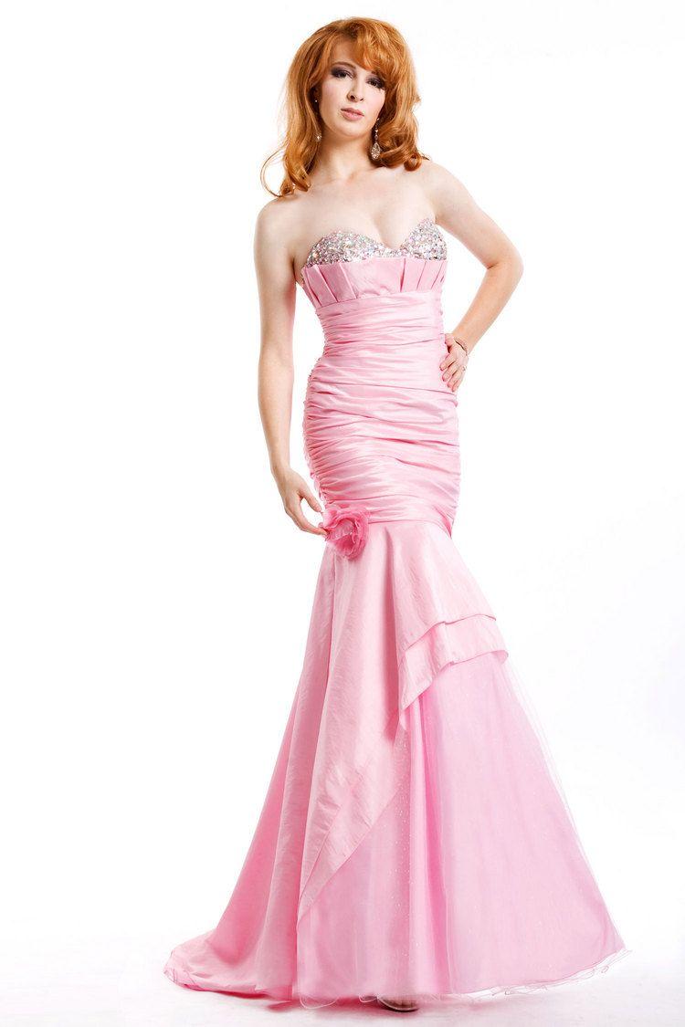 mermaid,pink,prom dress | Prom dresses | Pinterest | Vestidos de ...