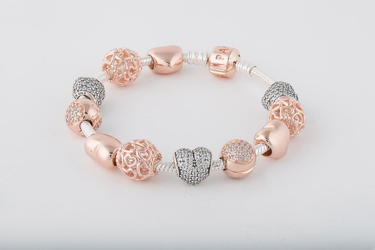 pandora rose bracciale
