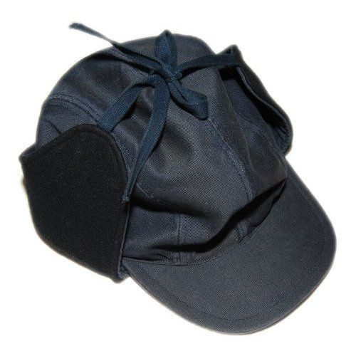 b16f8bd9843 Amazon.com  Polo Ralph Lauren Double RL RRL Mens Hat Cap Ear Muff Navy  Hunting Wool Large  Clothing
