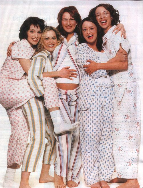 Ladies of SNL: Rachel Dratch, Amy Poehler, Tina Fey, MYA Rudolph, and Ana Gasteyer