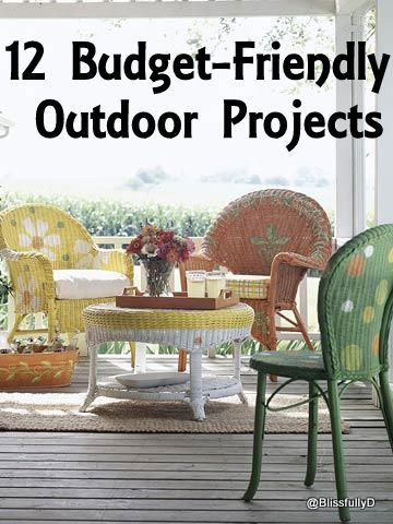 2 Easy And Budget Friendly Outdoor Projects: Zero To Low Cost