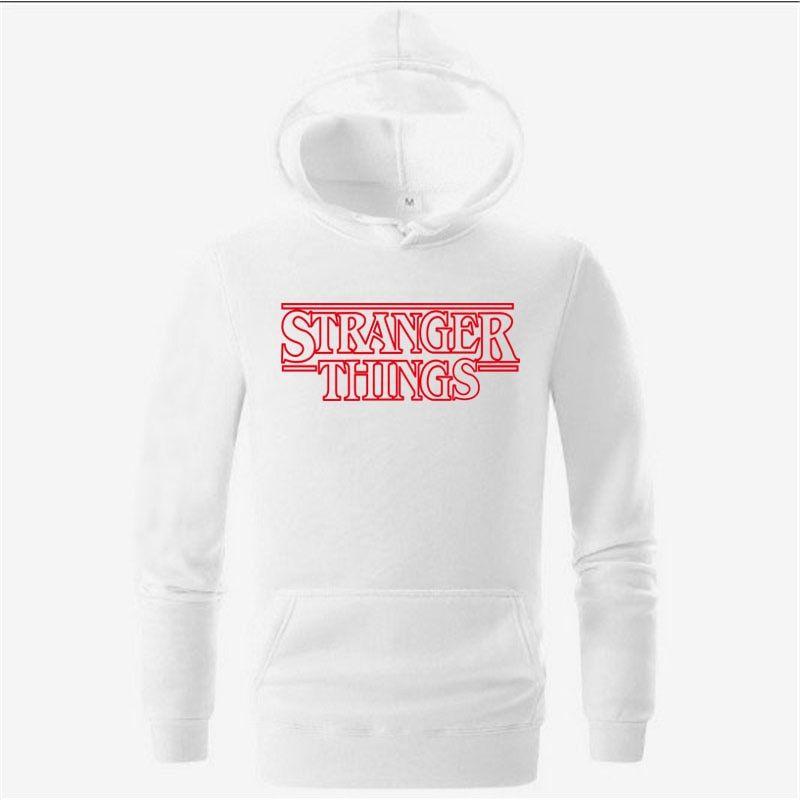 Black Grey Autumn Winter Stranger Things Men  S Hoodies Hoodies 2018  Stranger Things Hooded 1d1b166fb