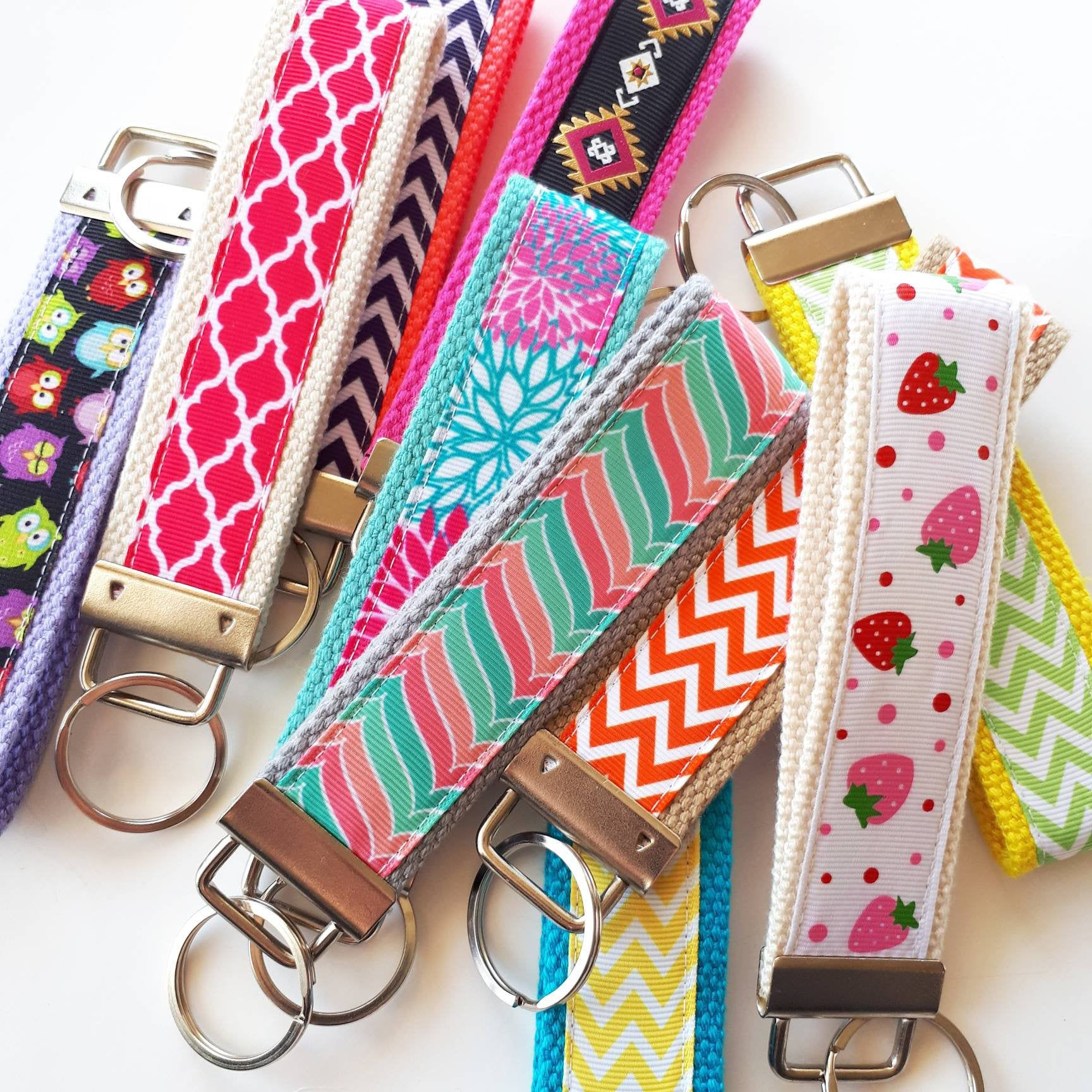 35 key fobs bulk gift idea employee appreciation gift