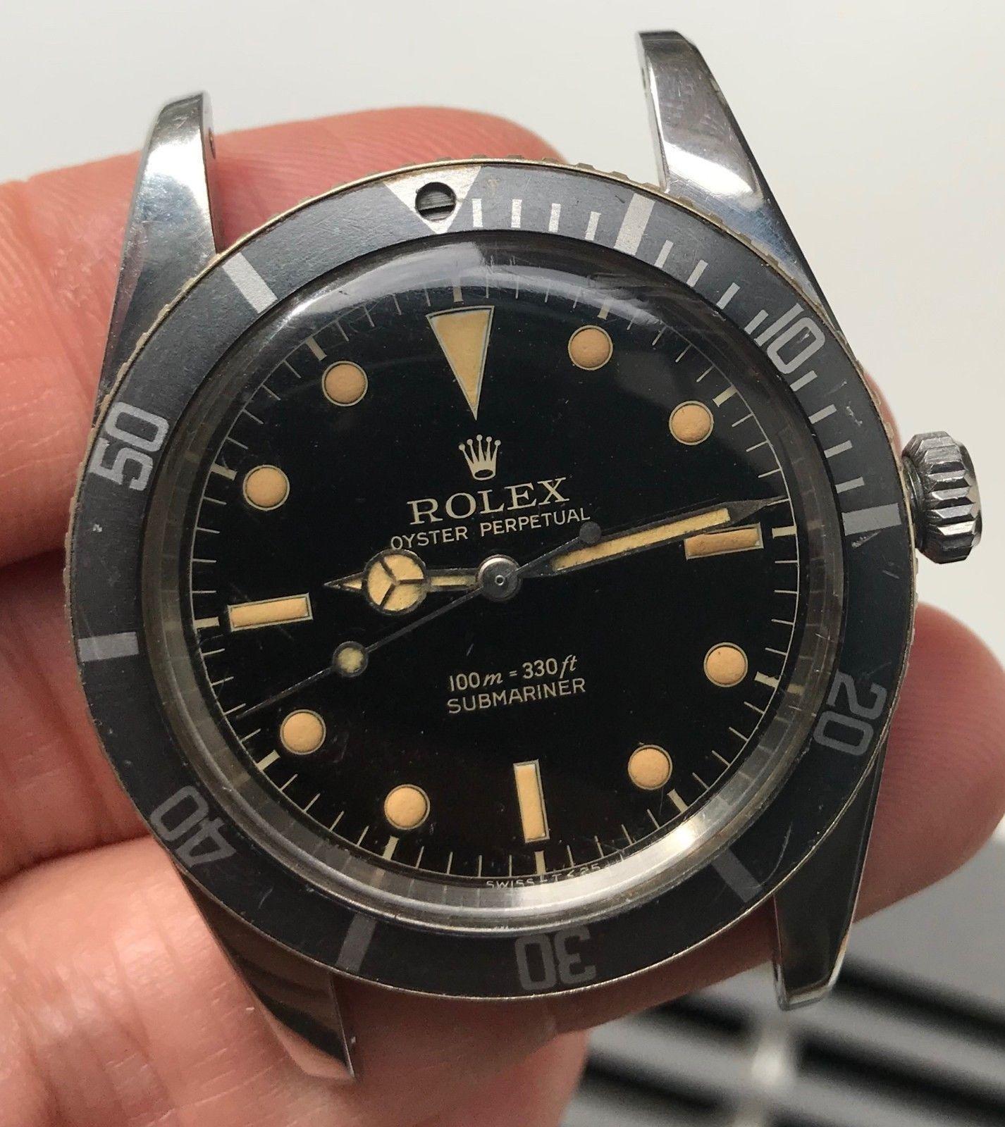 Details about 1963 Vintage Rolex Submariner ref. 5513 w ...