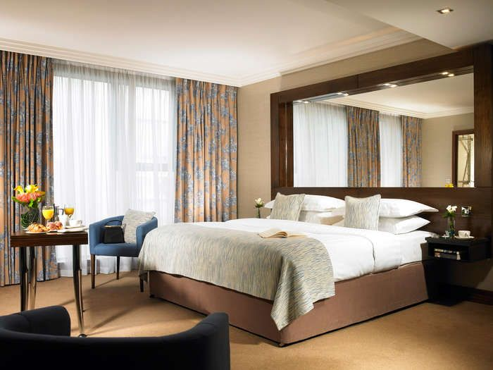 The Ashling Hotel Dublin Has 225 Bedrooms Including Family Rooms King Size Triple Beside Luas Tram Line Great Value