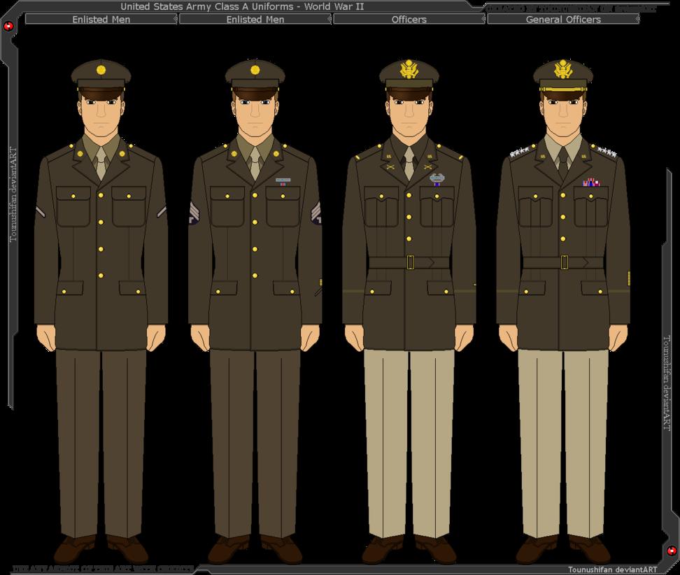 Army class b uniform, enlisted, female