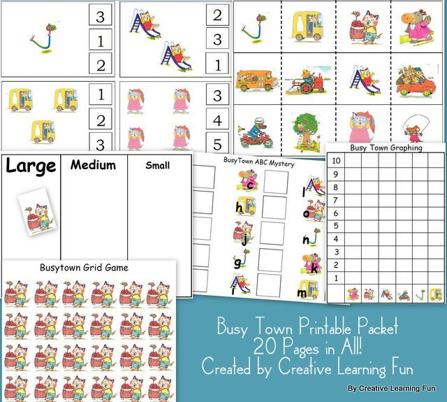Many free educational printables. These activities are developed by ...
