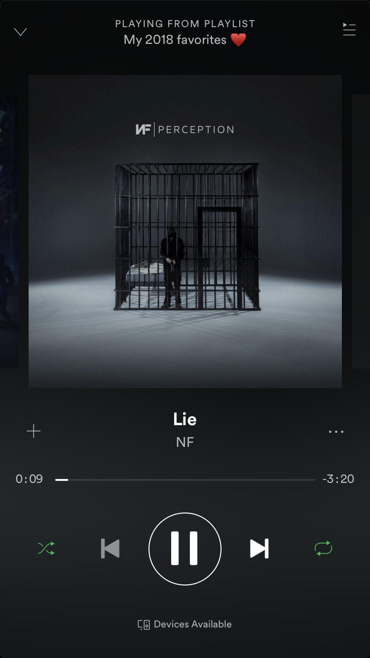 Pin By S M On Real Music Til The Day We Die Spotify Music Spotify Screenshot Songs