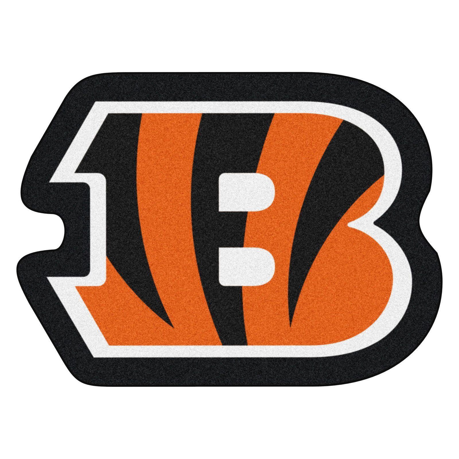 Fan Mats NFL Football Mascot Indoor Rug Cincinnati