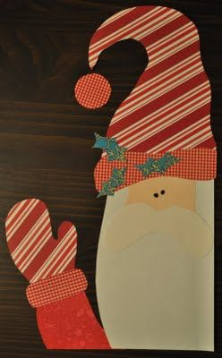 Santa's Comming: Art to Heart, FRREE pattern by Nancy Halvorsen.