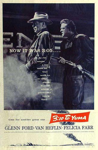 3 10 To Yuma 1957 Glenn Ford Van Heflin Felicia Farr Leora
