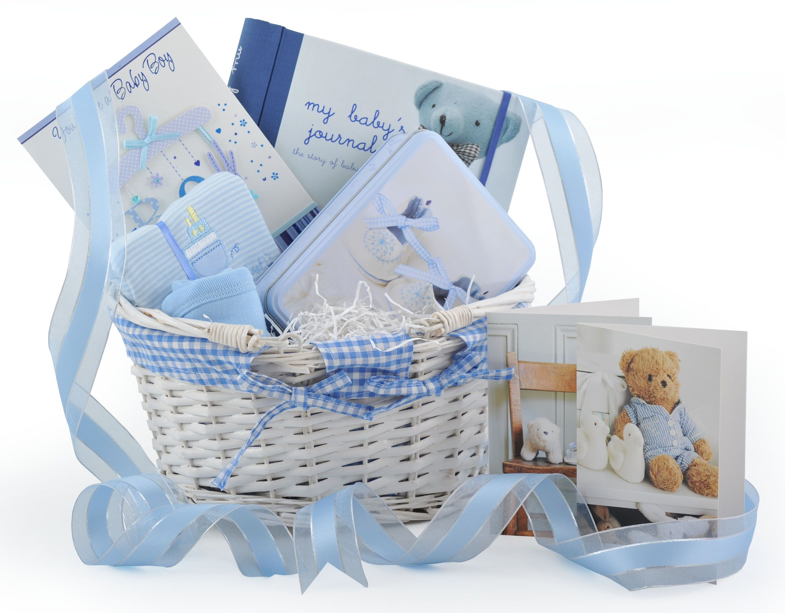 New Baby Boy Gift Baskets Uk : New beginnings baby boy gift hamper available at