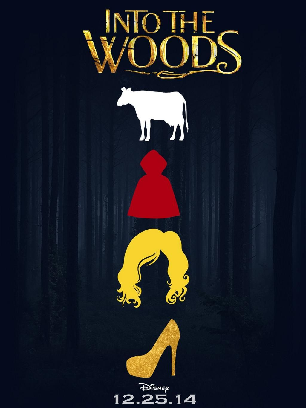 Celebrate Into The Woods With A Look Back At-playbill - HD1024×1365