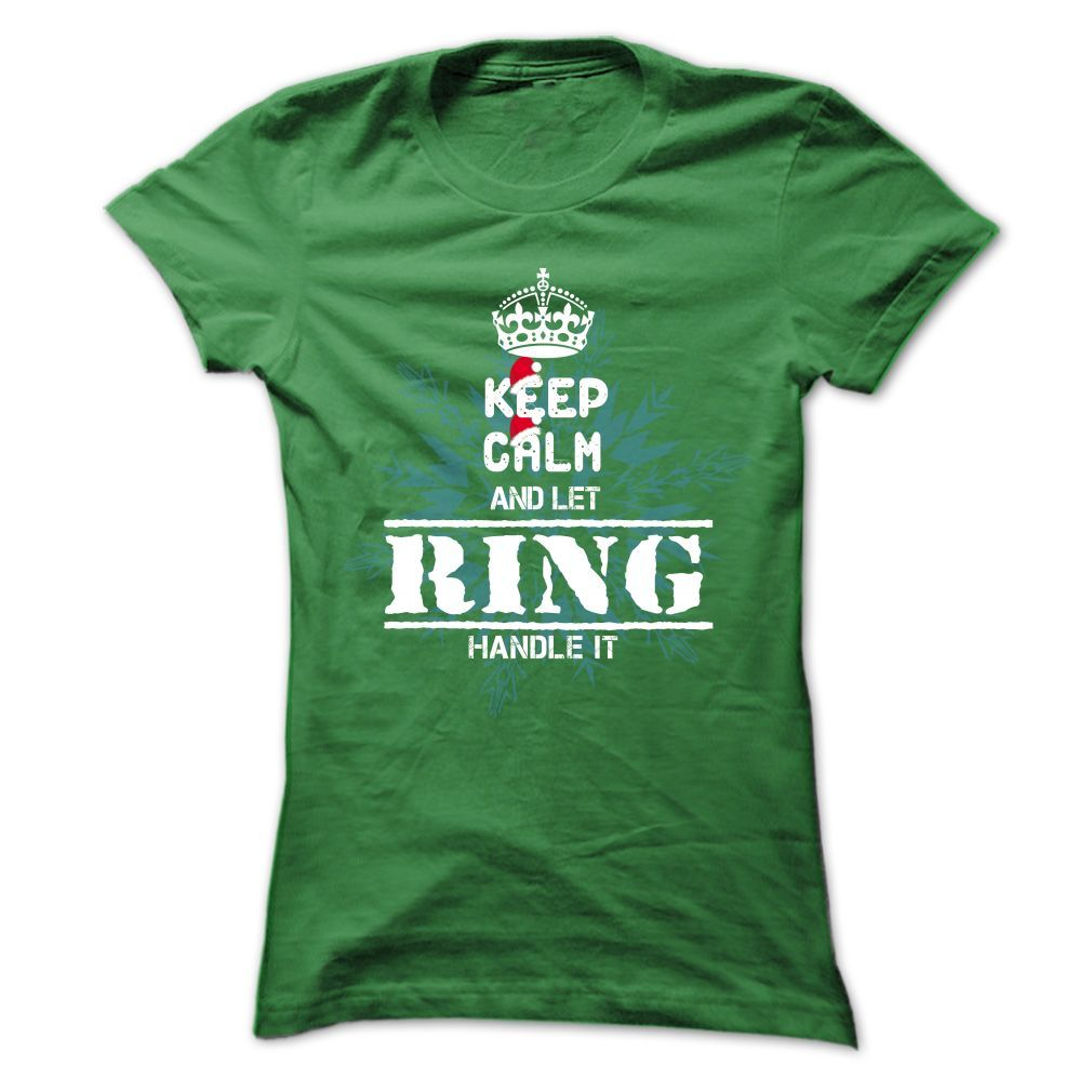 15 PACE Keep Calm And Let The Handle It T-Shirts, Hoodies. GET IT ==► https://www.sunfrog.com/States/15-Ring-Keep-Calm-5833-Green-Ladies.html?id=41382