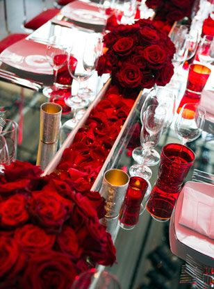 Red Centerpieces - Set 1 gallery | ColinCowie.com