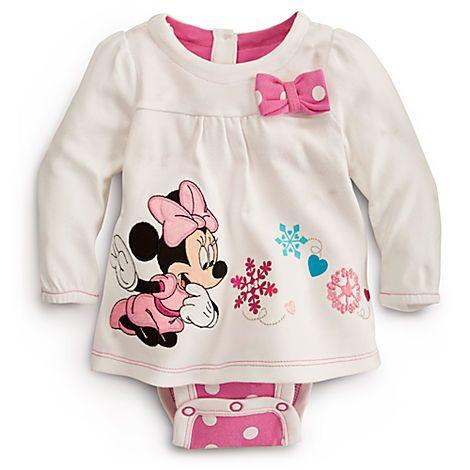 Minnie Mouse Disney Cuddly Bodysuit for Baby | Bodysuits | Disney Store