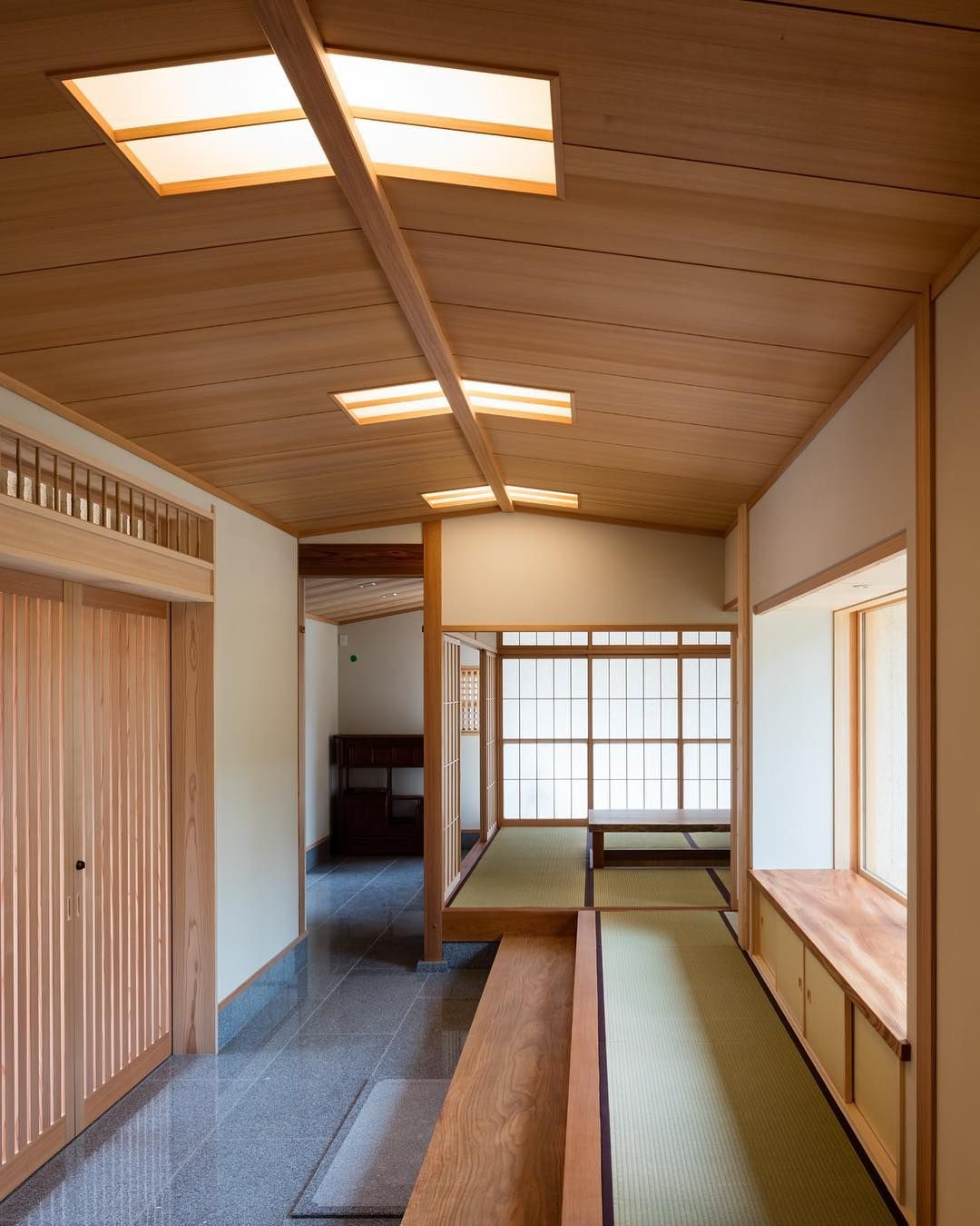 柊の家 House Of Holly Osmanthus Photo Shigeo Ogawa 和風住宅 日本