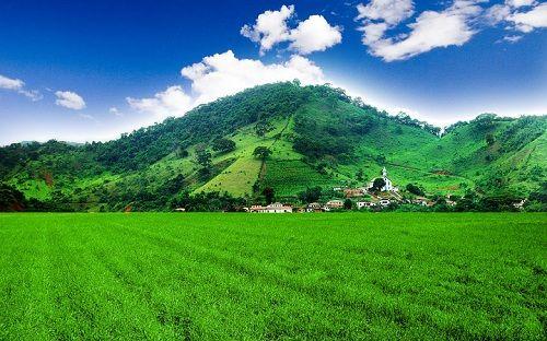 Mountain Villa Bliss Excellent Nature Wallpaper Best Tourist
