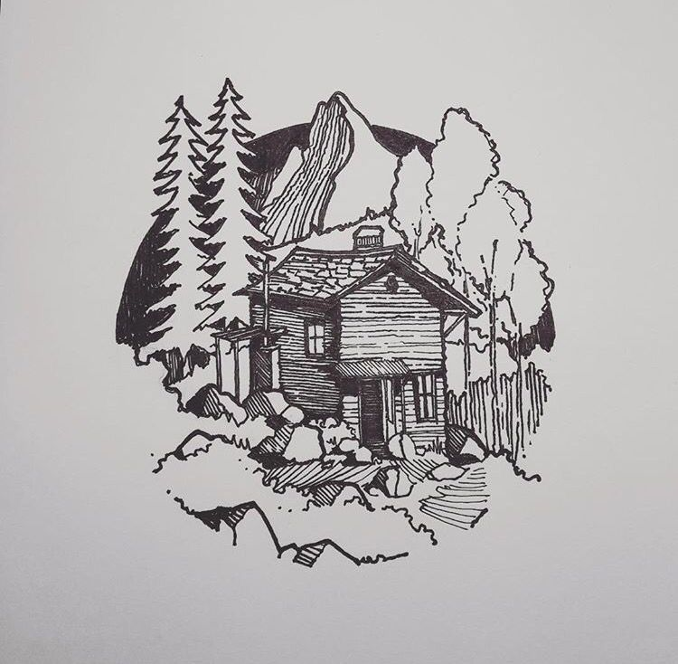 Jared Kohn Art Arvore Desenho Flash Art Ideias Esboco