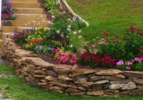 Gardeneer Stonewall Faux Stone Border Edge