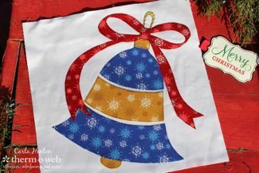 christmas bell ornament quilt block templates crazy quilt