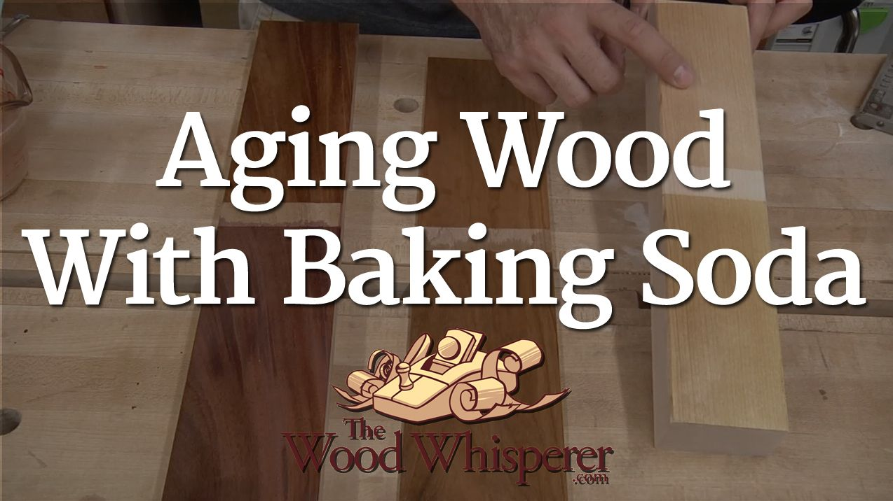 How to Age Wood with Baking Soda photo