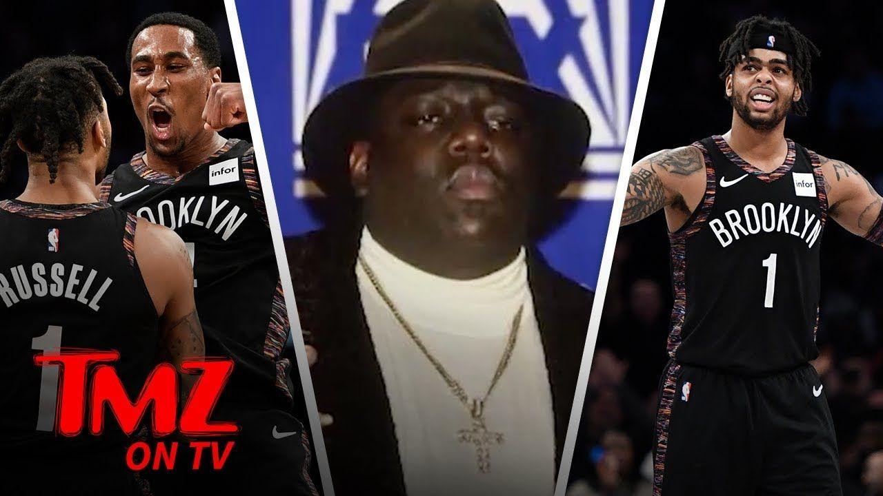 3cfdbe20eaf Brooklyn Nets Accused of Jacking Coogi Design for Biggie Tribute | TMZ TV