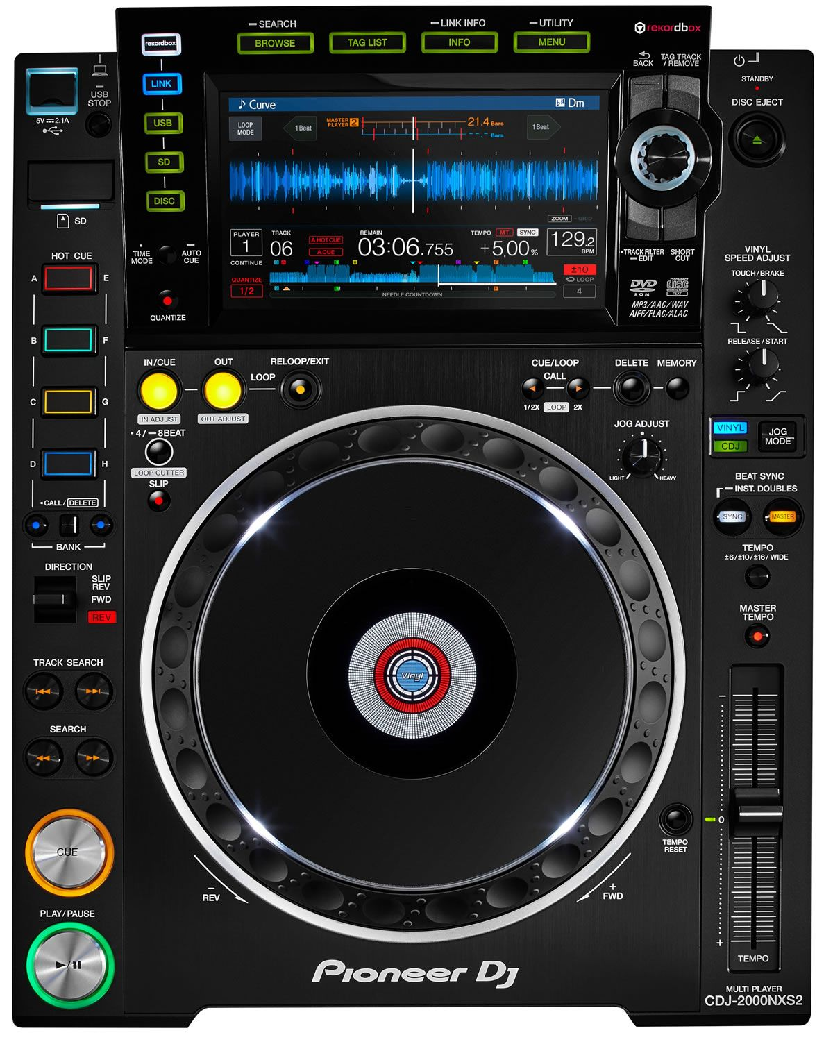Pioneer CDJ-2000NXS2 DJ Player Windows 8 X64
