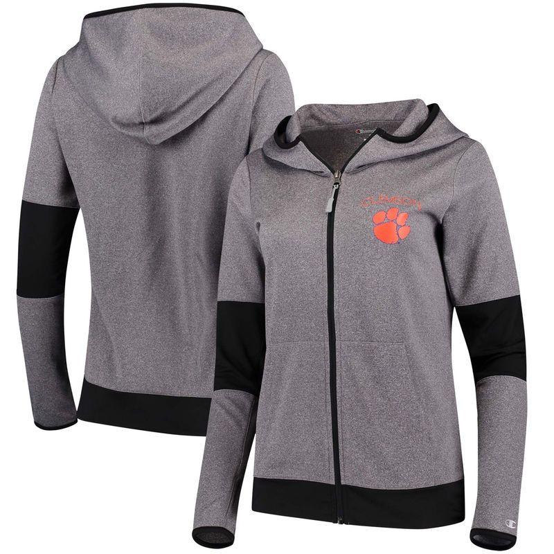 Clemson Tigers Nike Women's Club Pullover Hoodie White