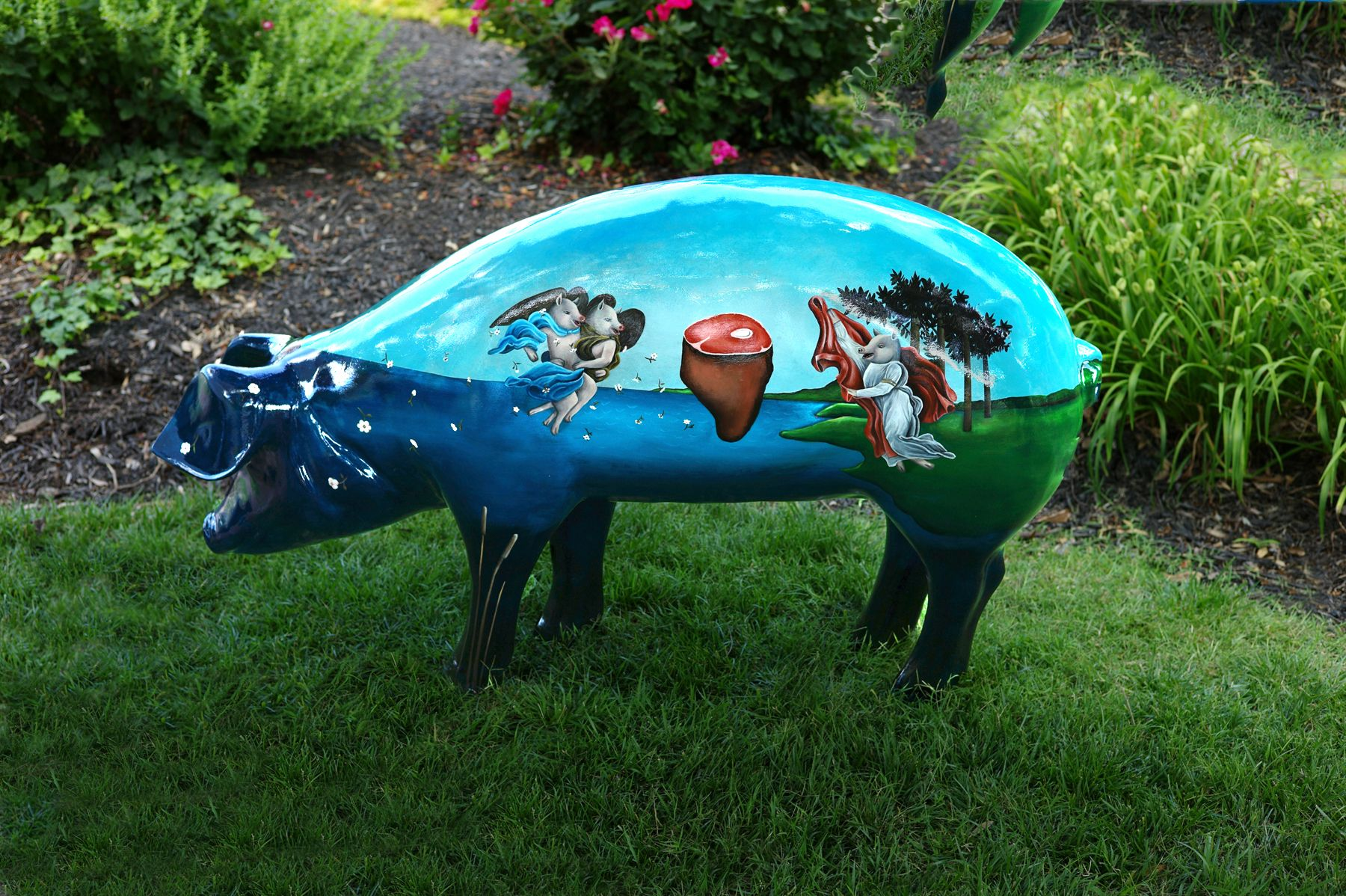 """Birth of Ham"" Artist Mallory Jarrell This version of"