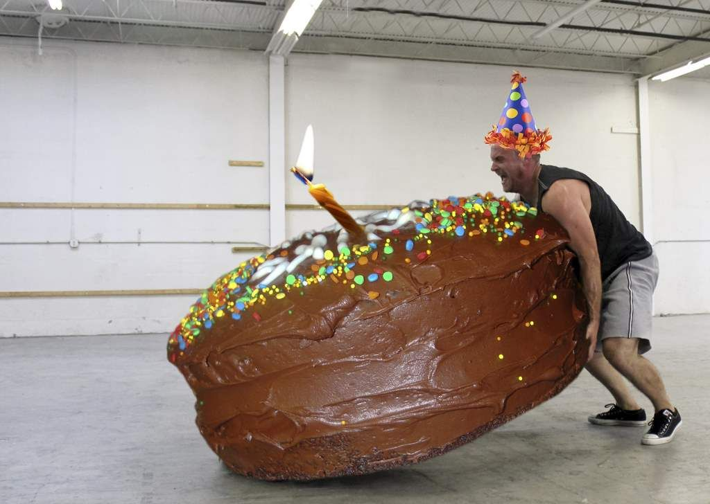 Gallery For > Happy Birthday Crossfit Cake