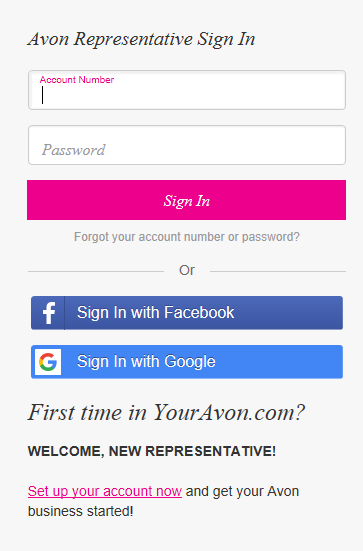 Youravon Com Login With Images Social Selling Login Starting