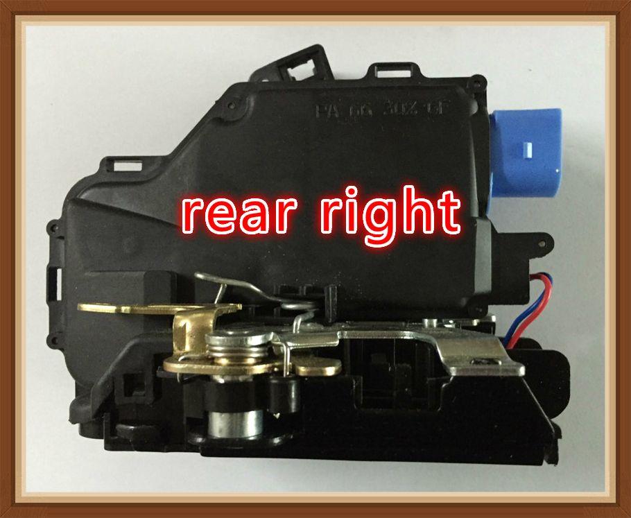 Rear Right For Golf 5 V Mk5 Vw Seat Leon Toledo Octavia Door Lock Actuator Central Mechanism 3d4839016a 7l0839016d 7l0839016e Seat Leon Door Locks Actuator