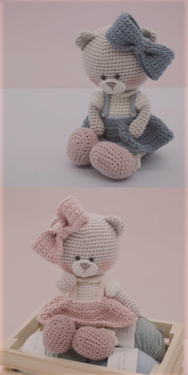 Amigurumi crochet pattern English Millie-Rose the Teddy Bear Amigurum - Amigurum...