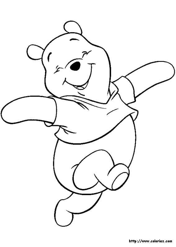 Winnie The Pooh Boyama Sayfasi Jpg 567 X 794 65 Coloriage