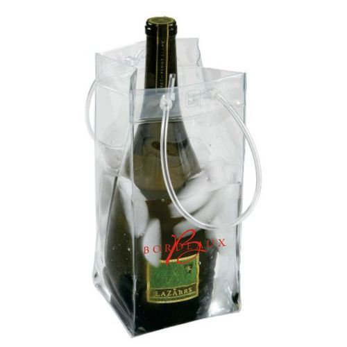 Ice Bag Collapsible Wine Cooler Bag with Custom Imprint