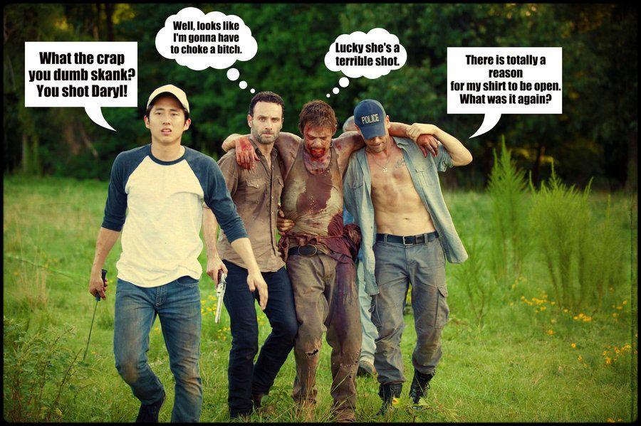 The Walking Dead, You Shot Daryl By Lovesick-Dreamer On -2483