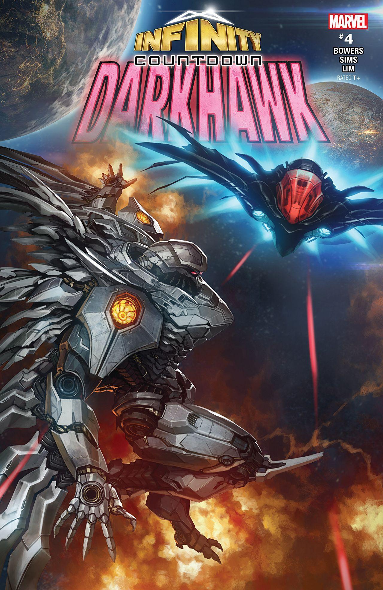 Infinity Countdown Darkhawk (2018) 4 (of 4) Comics