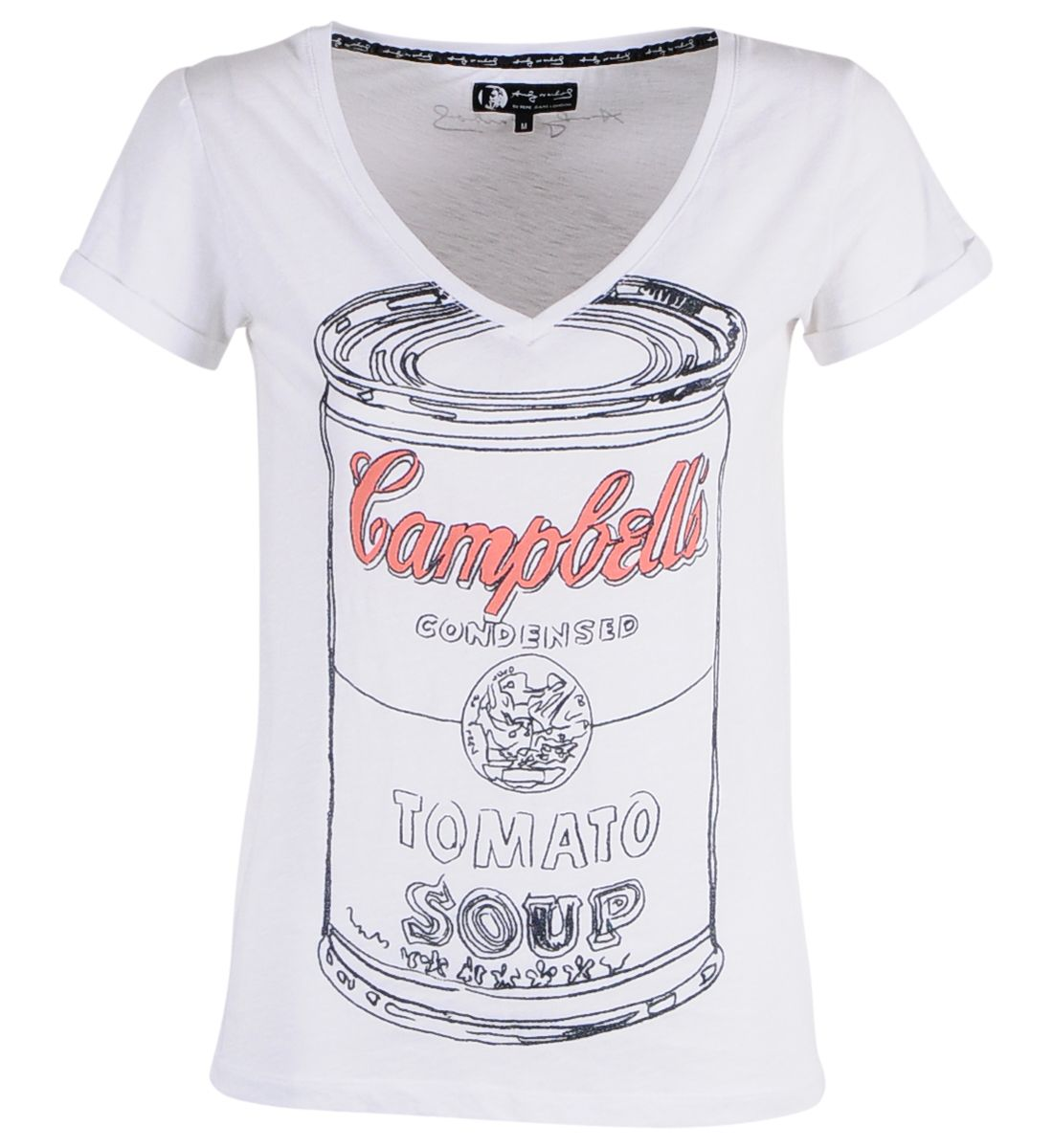 Campbell tee for a Campbell. Andy Warhol by Pepe Jeans