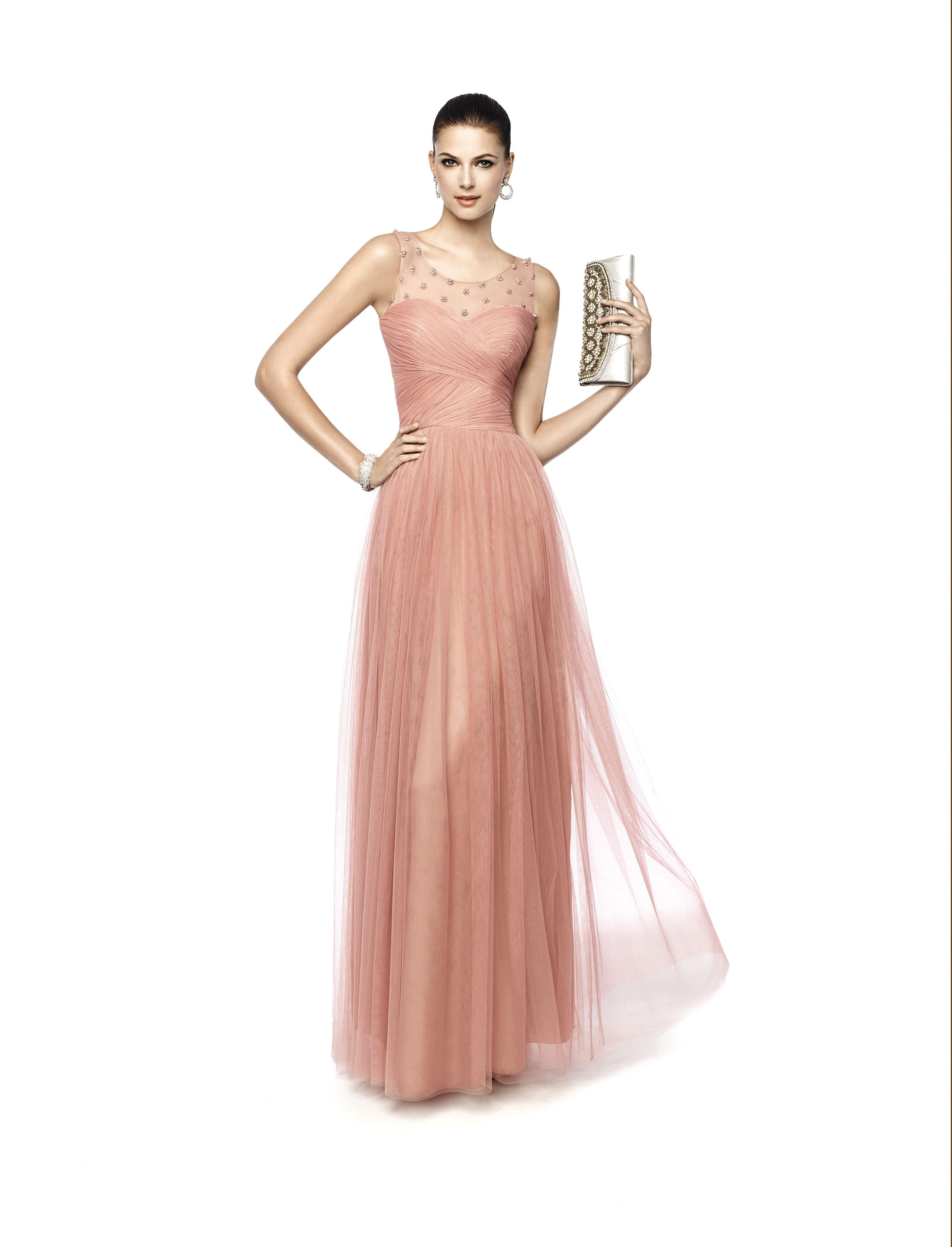Nevenka vestido de fiesta diseñador pronovias maxi faldas